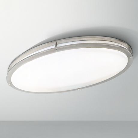 "Oval 28 3/4"" Wide Ceiling Light Fixture"