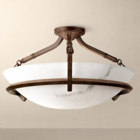 "Calavera Collection 22 1/2"" Wide Ceiling Light Fixture"