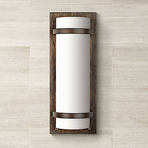 Minka Lavery Contemporary Iron Oxide Wall Sconce