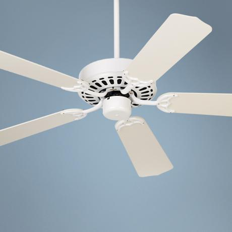 "52"" White Knight  Ceiling Fan"