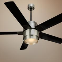 "56"" Craftmade Silo  Brushed Aluminum Ceiling Fan"