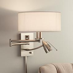 Swing Arm Wall Lamp Designs - Swing Arms for Bedroom, Reading ...