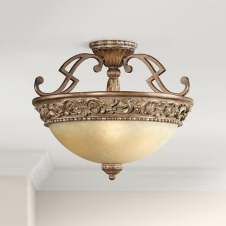 "Belcaro Collection 18"" Wide Ceiling Light Fixture"