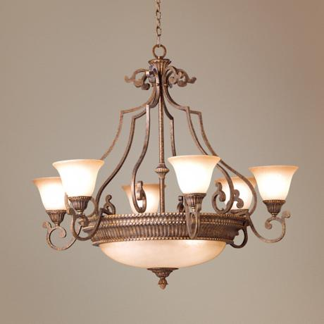 "Larissa Collection 43 1/2"" Wide Chandelier"