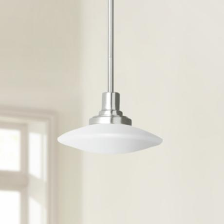 Structures Nickel Monopoint Pendant Chandelier