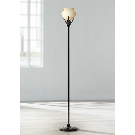 robert abbey beaux arts torchiere floor lamp 29544 lamps plus. Black Bedroom Furniture Sets. Home Design Ideas