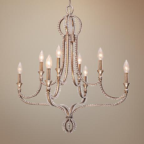 "Garland 28"" Wide Twilight Crystal Chandelier"