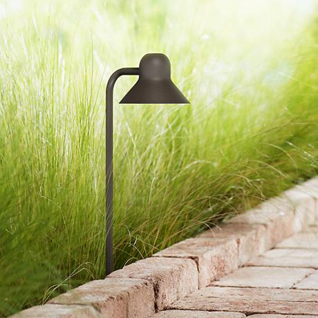 "Jayce 18 1/2"" High Bronze LED Landscape Path Light"