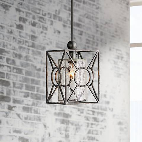 Arbela One Light Mini Pendant by Uttermost Lighting