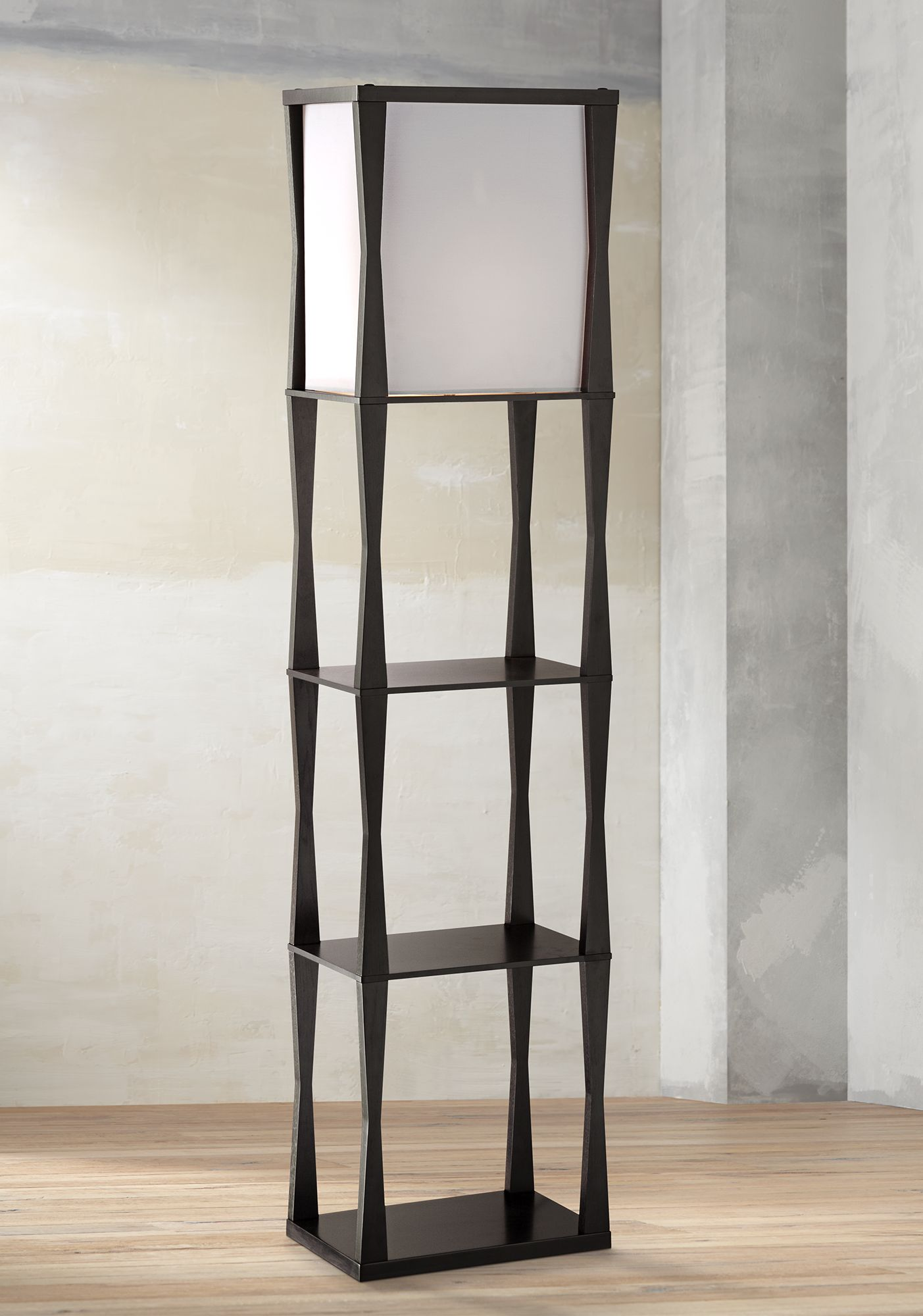 Haiku Etagere Floor Lamp - #2G189 | Lamps Plus