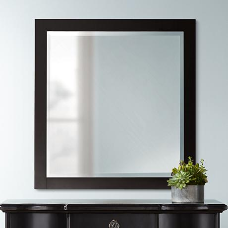 "Avanity Lexington 28"" Wide Espresso Wall Mirror"