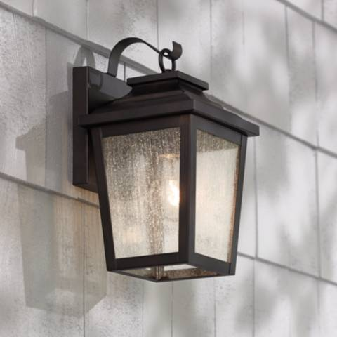 Irvington Manor 12 Quot High Bronze Outdoor Wall Light