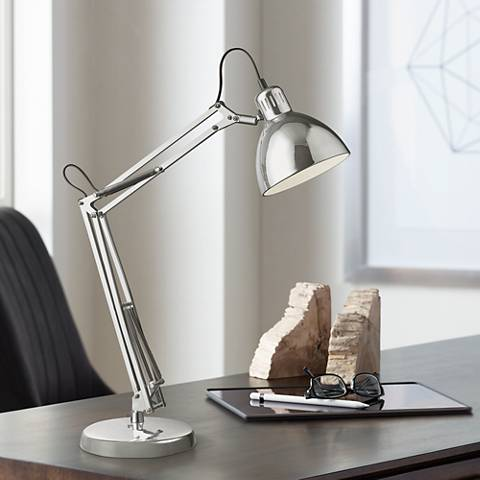 Dimond Ingleside Chrome Desk Lamp