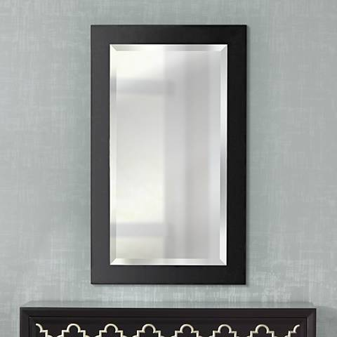 "Kenroy Home Black Ice 40"" High Wall Mirror"