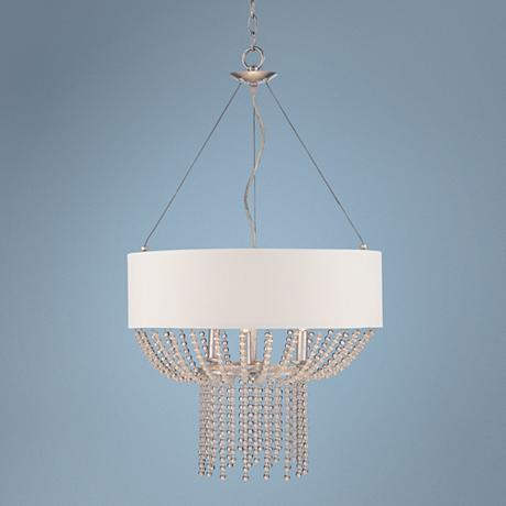 Possini euro design calloway 20 1 2 wide beaded pendant for Possini lighting website