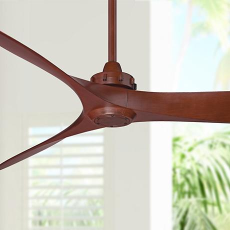 "60"" Minka Aire Aviation Rosewood Ceiling Fan"
