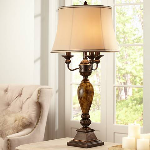 Kathy Ireland Mulholland 6-Way Traditional Table Lamp