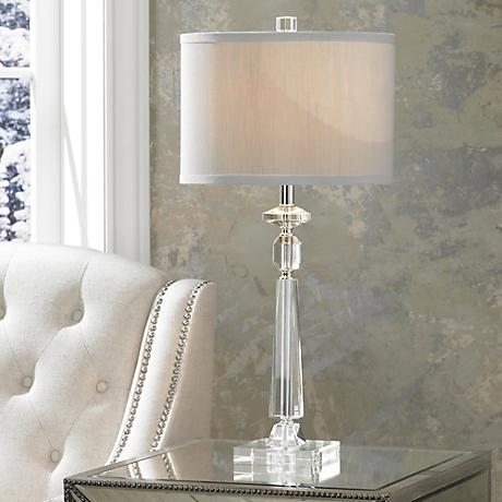 Aline Modern Crystal Table Lamp