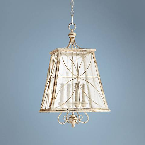"Quorum Charme 15 1/4"" Wide Persian White Pendant Light"
