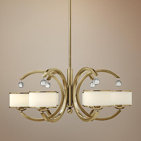 "Hinkley Monaco 31 1/2"" Wide Caramel Chandelier"