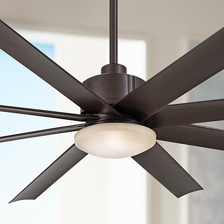 "65"" Minka Aire Slipstream Bronze Outdoor Ceiling Fan"