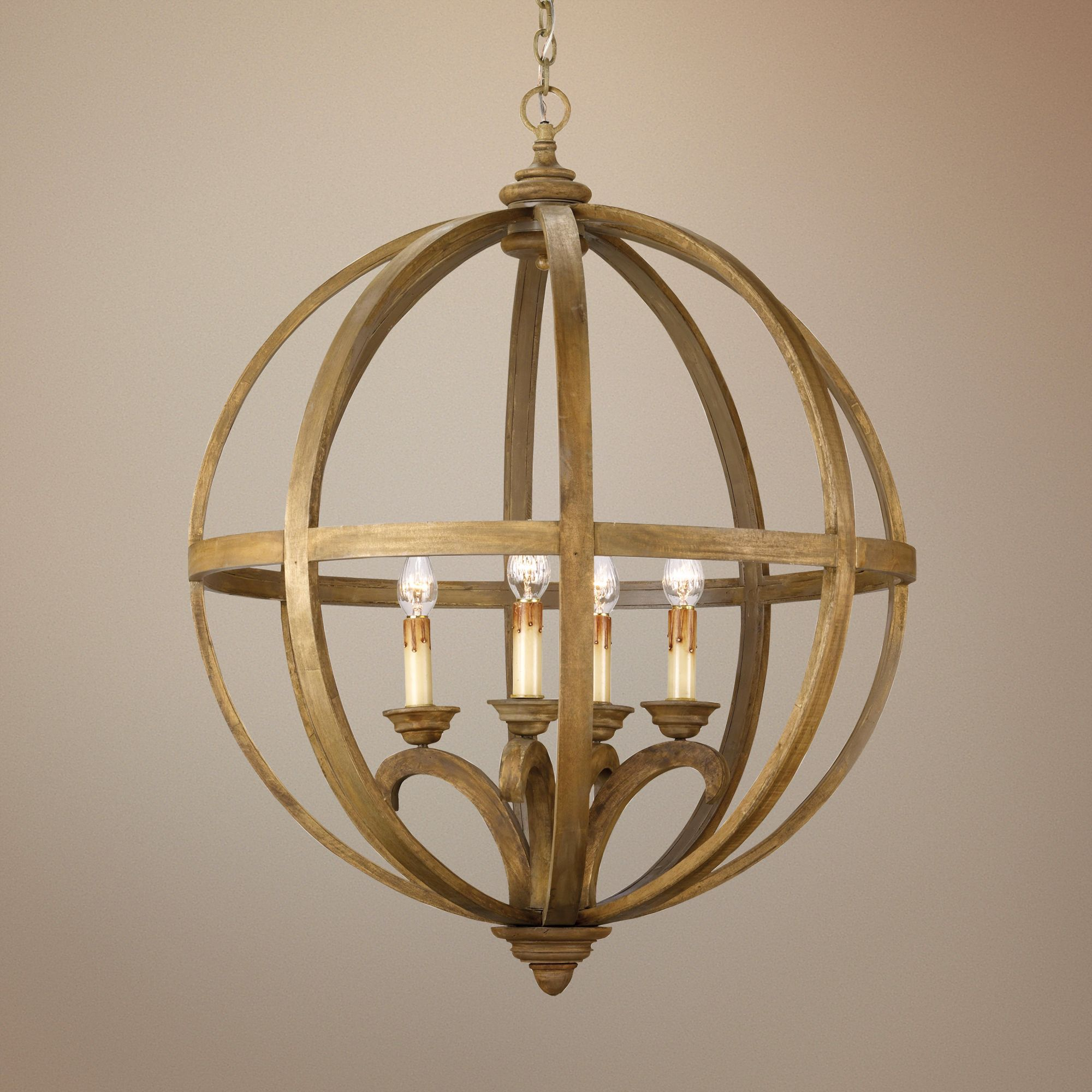 Currey and Company Axel Orb 5-Light 32