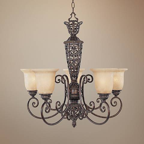 "Amherst Collection 28""W 5-Light Chandelier"