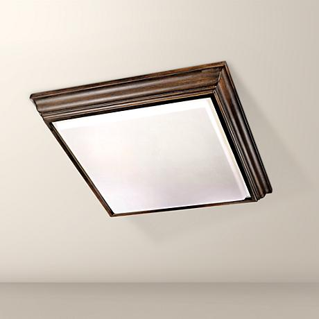 "ENERGY STAR® Fluorescent Square 29"" Wide Ceiling Light"