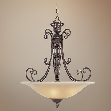 Amherst Collection 3 Light Pendant Bowl Chandelier
