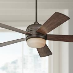 "52"" Emerson Atomical Oil-Rubbed Bronze Ceiling Fan"
