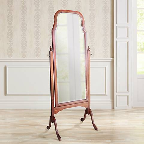 "Charlotte Cheval 63"" High Full Length Floor Mirror"