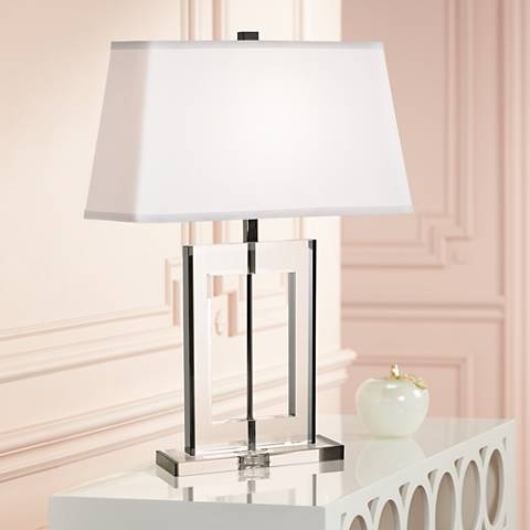 Vienna Full Spectrum Crystal Window Table Lamp