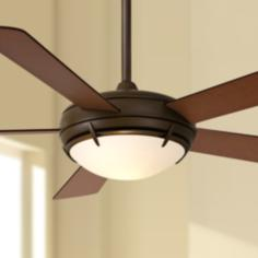 "54"" Minka Aire Oil-Rubbed Bronze Como™ Ceiling Fan"