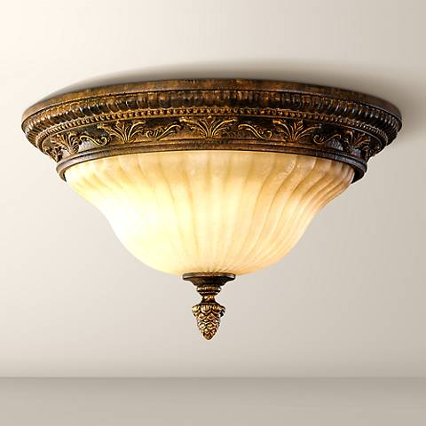 "Feiss Sonoma Valley 13"" Wide Ceiling Light Fixture"