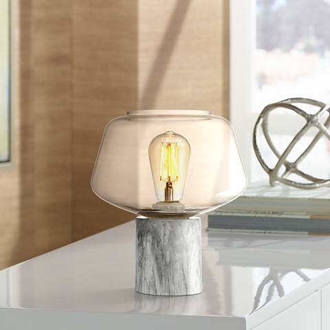 "Rolf 9 1/2"" High Contemporary Accent Table Lamp"