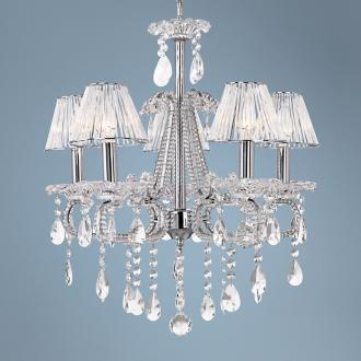 Clear Glass Crystal Chandelier