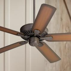 "52"" Casa Vieja Windstar II Shaded Teak Blades Ceiling Fan"