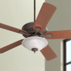 Casa Vieja® Windstar II™  Rust Ceiling Fan