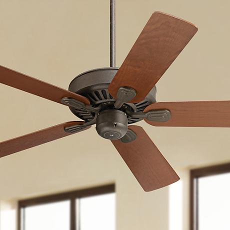 "52"" Casa Windstar II™ Square Teak Blades Ceiling Fan"