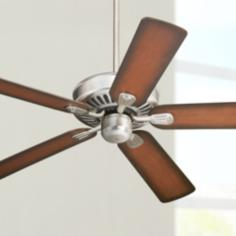 "52"" Windstar II™ Brushed Steel Ceiling Fan"