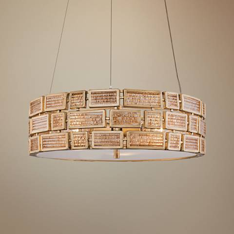 "Varaluz Harlowe 18"" Wide Havana Gold Pendant Light"