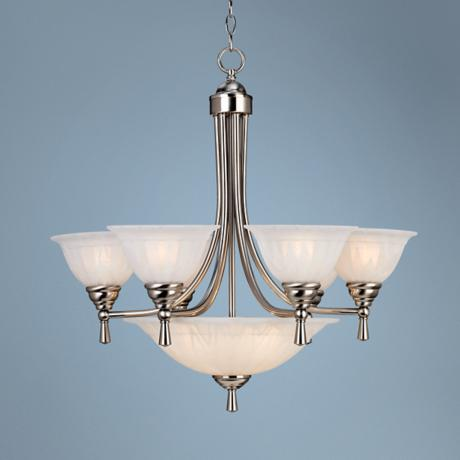 Burlington Nine Light Chandelier