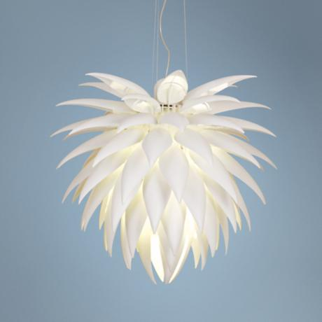 Possini Euro Design Icicle Leaf Chandelier Picture