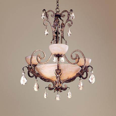 Fredrick Ramond Barcelona Collection Six Light Chandelier