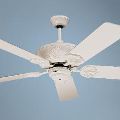 "52"" Craftmade Cordova Antique White Ceiling Fan"