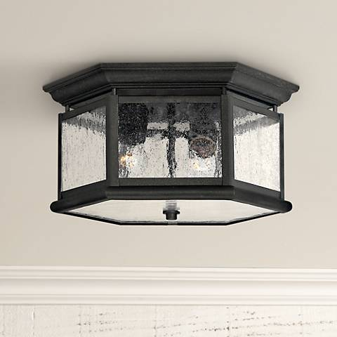 "Hinkley Raley Collection 13"" Wide Ceiling Light"