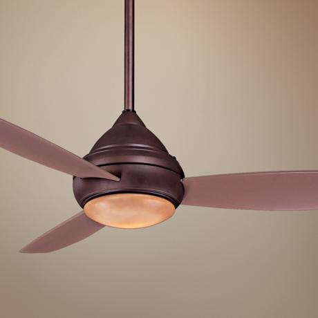 "52"" Minka Concept I Wet Location Bronze Ceiling Fan"