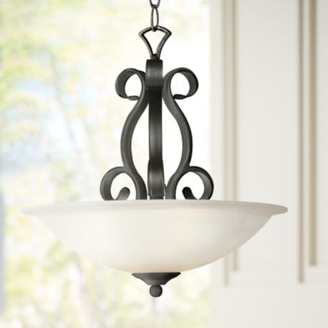 "Manchester Collection 20"" Wide Pendant  Chandelier"