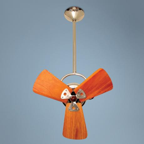 "16"" Matthews Bianca Direcional Chrome Ceiling Fan"