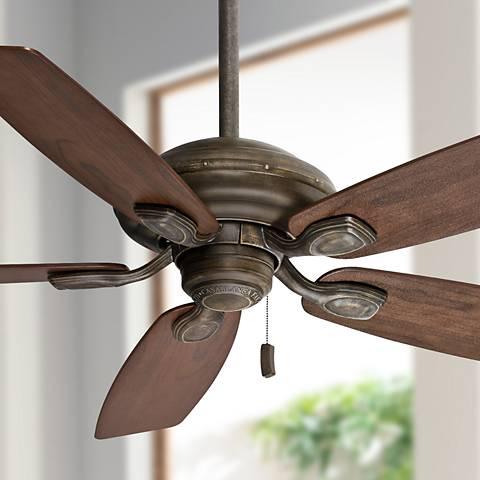 "52"" Casablanca Utopian Aged Bronze Energy Star Ceiling Fan"